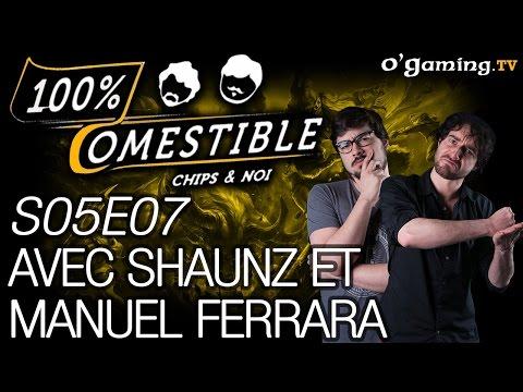 Avec Shaunz et Manuel Ferrara - 100% Comestible - S05E07 - 31/08/16 (видео)