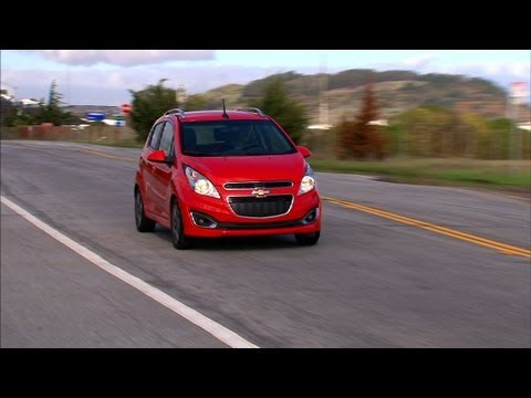 Spark - http://cnet.co/XPS4lQ The littlest Chevy has more tech than you bargained for.