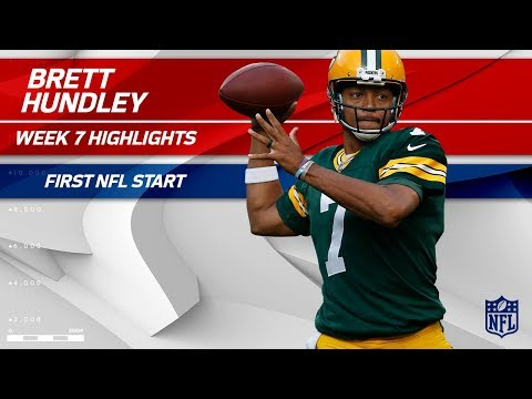 Video: Brett Hundley Highlights from His First Start | Saints vs. Packers | Wk 7 Player Highlights