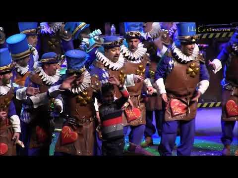 Comparsa Latidos S.A. La Fábrica de Corazones. Carnaval de Isla Cristina