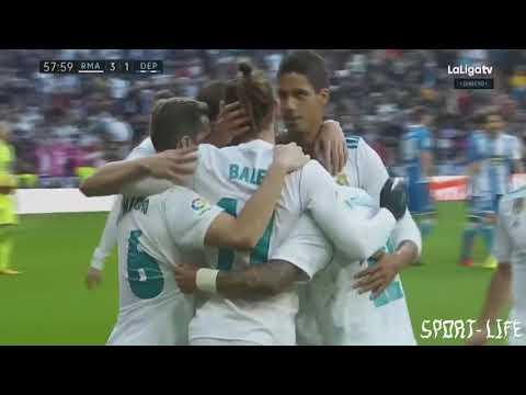 Real Madrid vs Deportivo 7 1 All Goals & Highlights HD  21 01 2018