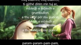 Kenge Per Femije MOJ BUBRREC  Me Tekst Ne Shqip