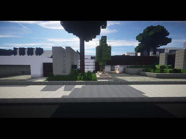 Minecraft vamos a construir casa moderna 3 con geo - Construir casa moderna ...
