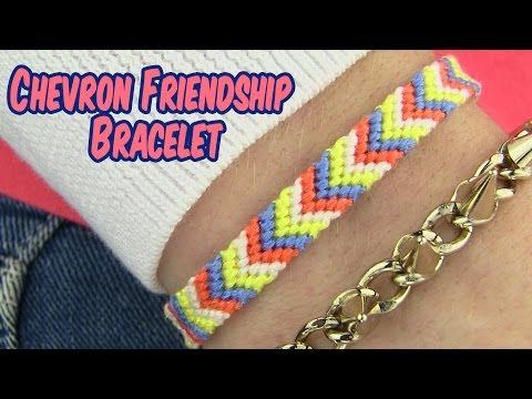 DIY Chevron Friendship Bracelet