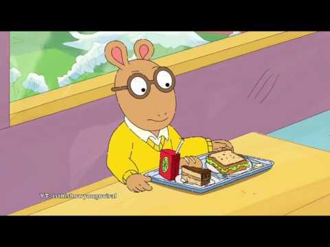 Arthur the Aardvark Sings the Song Redbone by Childish