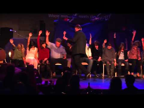 COMEDY CLUB STAGE HYPNOSIS SHOW WITH TOM SILVER
