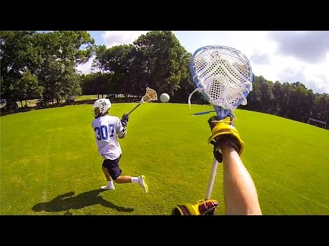 Lacrosse - High school lacrosse players enjoy a friendly pick-up game during the hot Florida summer. Shot 100% on the HD HERO3+® camera from ‪http://GoPro.com. Get stok...‬
