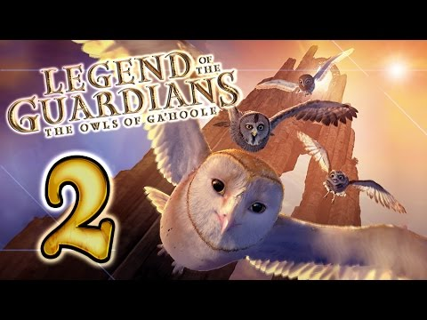 Legend Of The Guardians: The Owls Of Ga'Hoole Walkthrough Part 2 (PS3, X360, Wii)
