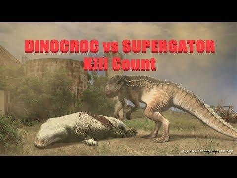 Dinocroc vs Supergator: Kill Count