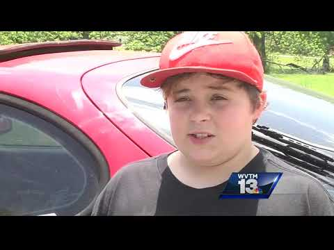 Watch 11 yr-old calmly explain how he shot an intruder who broke into his house!