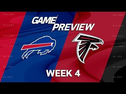 Video: Buffalo Bills vs. Atlanta Falcons | Week 4 Game Preview | NFL Playbook