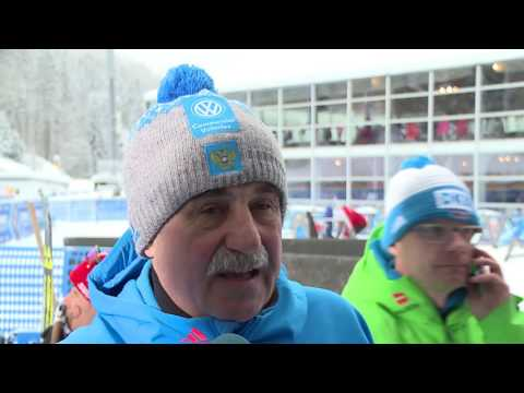 Александр Касперович на 5-м этапе Кубка мира по биатлону в Рупольдинге