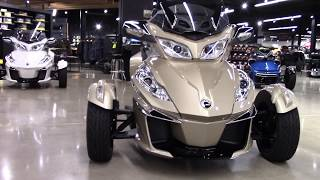 9. 2018 Can-Am Spyder F3 Limited SE6 - New 3 Wheel Motorcycle For Sale - Elyria, OH