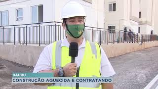 Setor da construção civil tem mercado aquecido