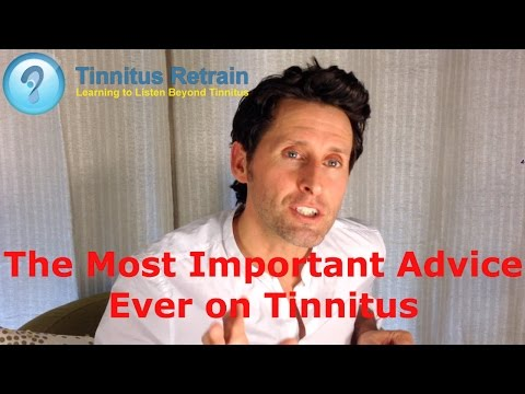 Ringing in Ears SURPRISE ADVICE FOR TINNITUS SUFFERERS