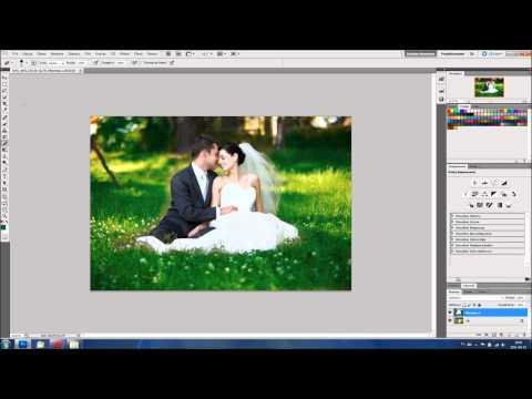 Przykładowa obróbka zdjęcia ślubnego