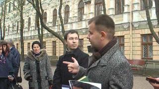 Фрагмент екскурсії «Вінниця Коцюбинського» (Вінниця, 22 квітня 2015)