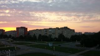 Obninsk Russia  City pictures : Russia, Obninsk - Sunrise Timelapse 4K