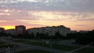 Obninsk Russia  city images : Russia, Obninsk - Sunrise Timelapse 4K