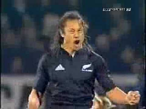 The Haka - War Dance Rugby