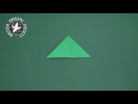 Tip 11-02 - Triangle Base Fold (method #2)