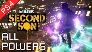 Video Infamous: Second Son ★ All Powers Showcase / All Powers and Abilities 【1080p HD】 MP3, 3GP, MP4, WEBM, AVI, FLV Mei 2019