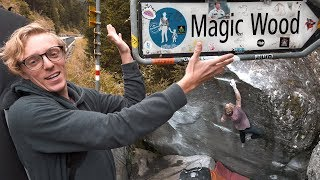 Louis Cuts Loose In Magic Wood | Classic Climbs by Andrew MacFarlane