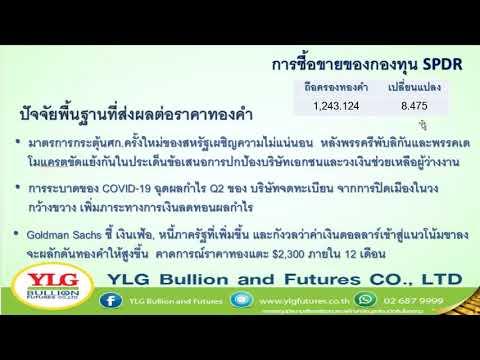 YLG รู้ทันทอง มองทันเทรน ประจำวันที่ 29-07-2020