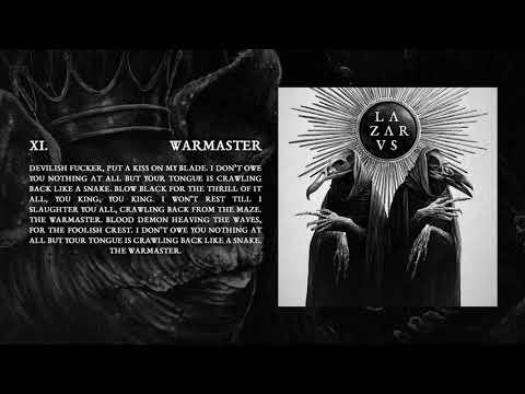 LAZARVS - WARMASTER (Official Audio)