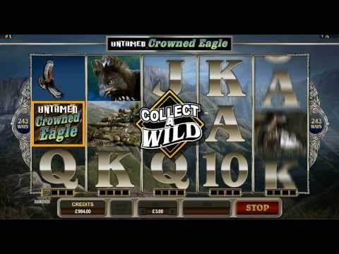 Untamed Crowned Eagle online slot game | Royal Vegas Casino