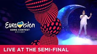 Nathan Trent represented Austria at the second Semi-Final of the 2017 Eurovision Song Contest in Kyiv with the song Running ...