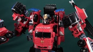 Century of Deformation Fire Rescue Corps Fire Warrior Review (Wei Jiang)