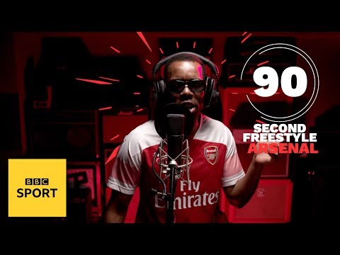 Double S Drops An Amazing Arsenal Freestyle | BBC Sport