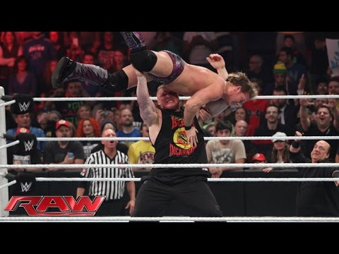 App - Y2J battles Brock Lesnar's advocate under a stipulation chosen by WWE App voters. SEE FULL RAW results from this show with videos – http://bit.ly/MobQRl More ACTION on WWE NETWORK ...