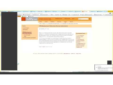 CTE Beschäftigung Ergebnisse Umfrage Webinar