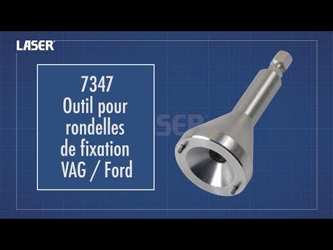 Outil de dépose de rondelle de fixation Ford /VAG