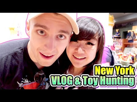 New York Toy Hunting & VLog with Ryan (aka. MicroGurardian)