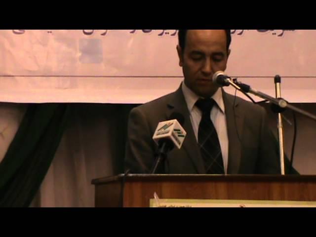 قسمت دوم سخنرانی عبدالقادر مصباح رئیس نهاد اجتماعی خط نو درشهرمزارشریف