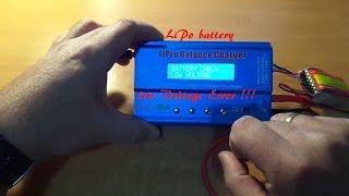 Video LiPo  Battery Low Voltage Error iMAXB6 MP3, 3GP, MP4, WEBM, AVI, FLV September 2019