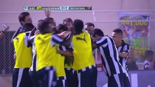 Juazeirense 1 x 2 Botafogo GOLS Copa do Brasil 2016