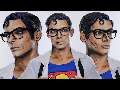 Comic Inspired Clark Kent / Superman Halloween MakeUp Tutorial | Justice League | Shonagh Scott | AD