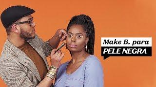 Testando makes para pele negra + promo do Boti!  Maquiagem O Boticário