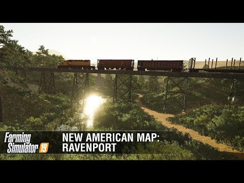 New American Map Ravenport Featurette