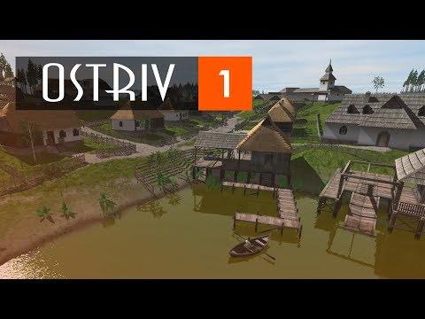 Наверное самый проработанный градостроительный симулятор | ОSTRIV #1