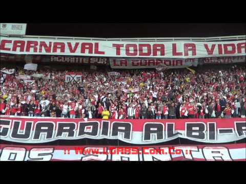 - Independiente Santa Fe Vs Estudiantes de la PLata - 8vos de final  - CBL 2015 - - La Guardia Albi Roja Sur - Independiente Santa Fe