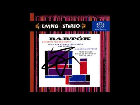 BARTOK: Concerto For Orchestra Sz. 116 / Reiner · Chicago Symphony Orchestra