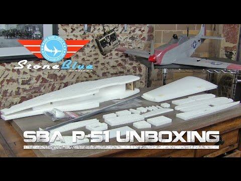 SBA P-51 Unboxing видео