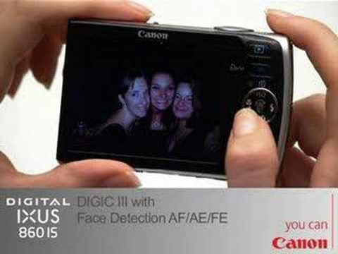 Canon Digital IXUS 860 IS (Silver) 8.0 Megapixel