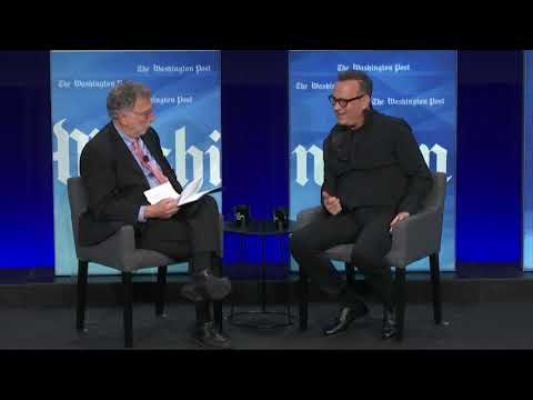 Tom Hanks and Marty Baron on 'The Post' Movie