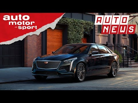 Cadillac CT6 (2018): Facelift und neuer V8 - NEWS | a ...